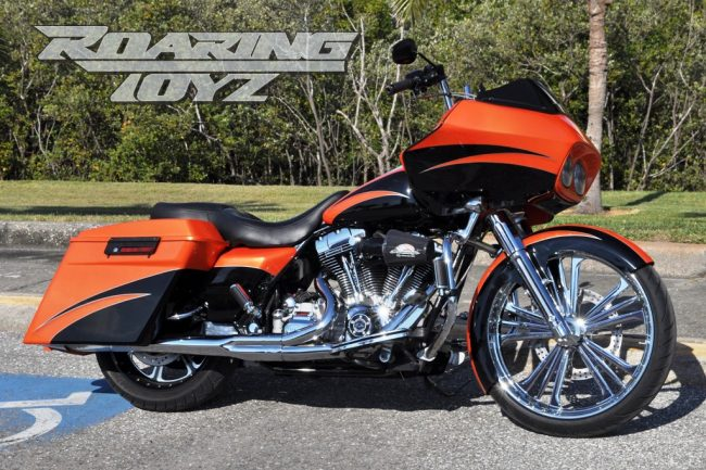 BMW Street Bike >> Harley Davidson Roadglide Custom Bagger 23 in. Front Wheel Conversion | Roaring Toyz