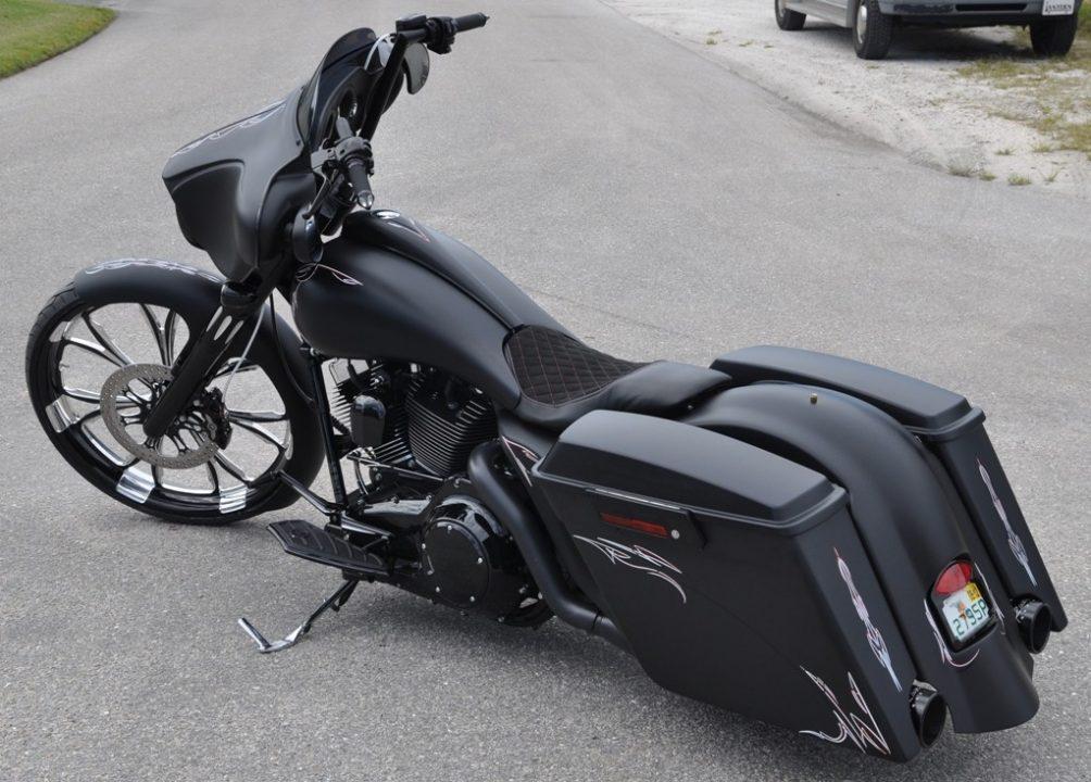 Custom Harley Davidson Street Glide 26 In Front Wheel