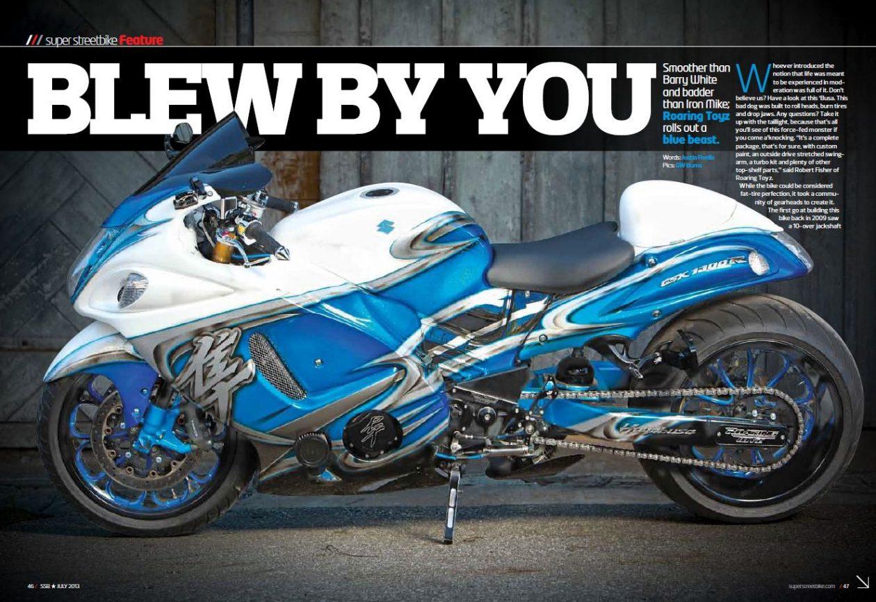 Roaring Toyz Hayabusa Turbo Super Streetbike Magazine