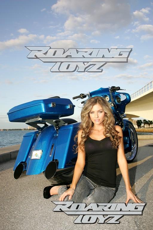 Roaring Toyz Harley Davidson Touring Street Glide Custom