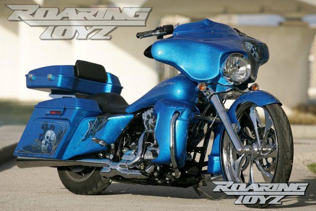 BMW Street Bike >> Roaring Toyz Harley Davidson Touring Street glide Custom ...