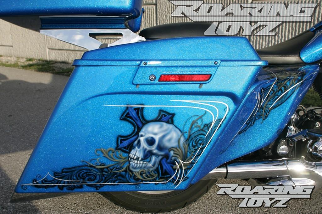 Air Bags Suspension >> Roaring Toyz Harley Davidson Touring Street glide Custom ...