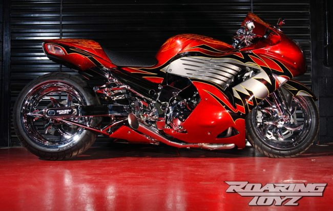 One Evil Zx14 Featured Magazine Cover Bike Roaring Toyz