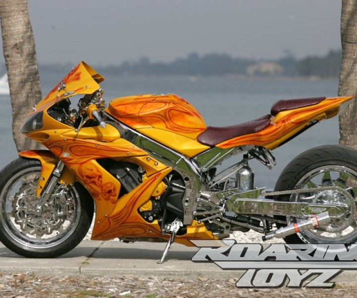 Roaring Toyz Custom Yamaha R1 360 Wide Tire Kit Turbo +