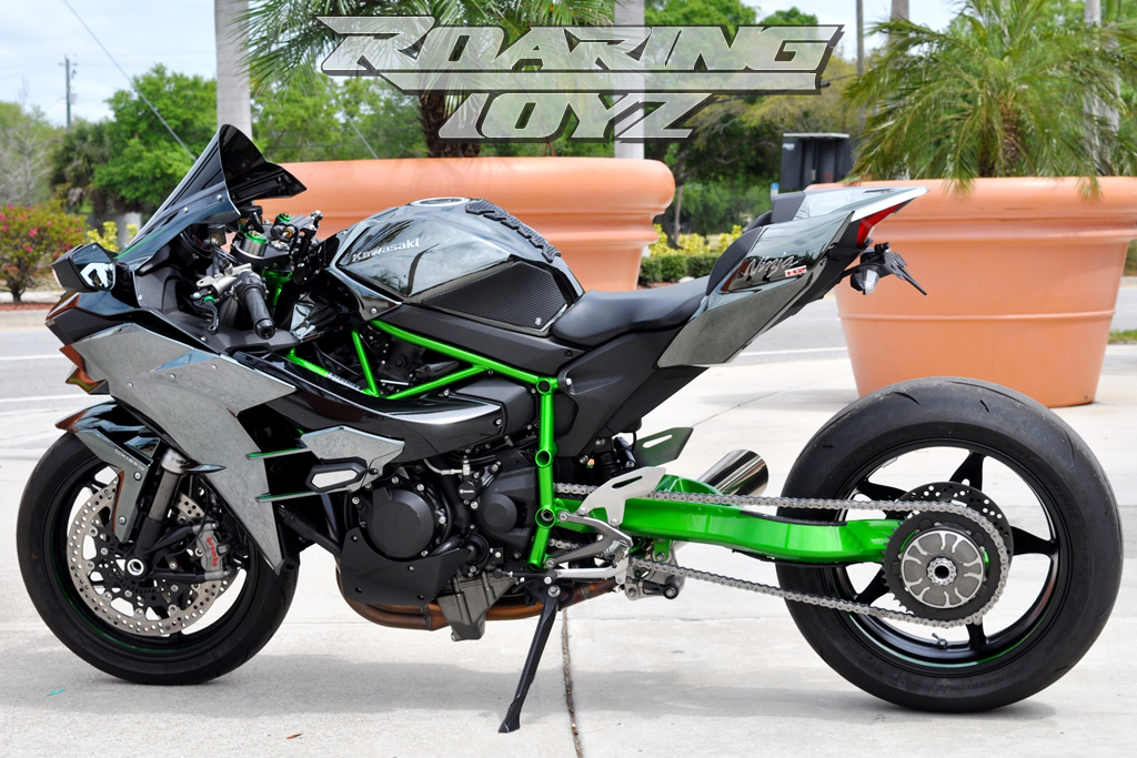 Kawasaki H2 Single Sided Swingarms Now Available | Roaring Toyz